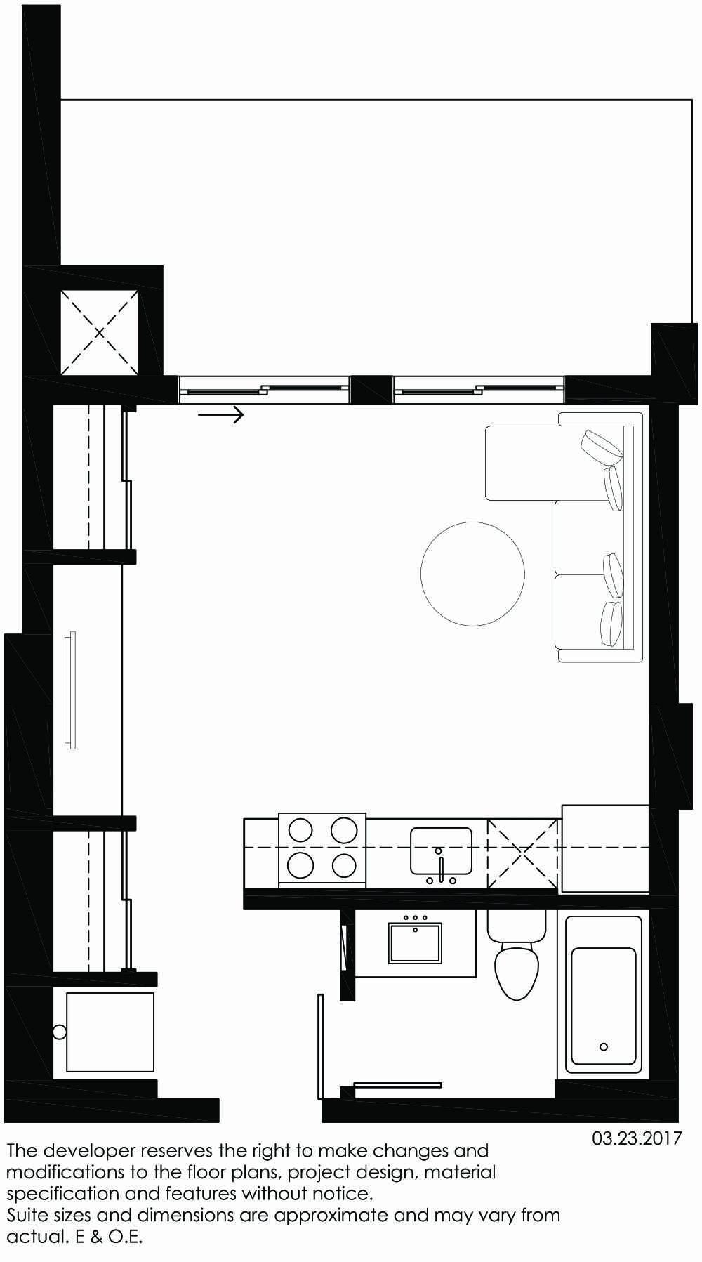 Vibe Condos - Calm Floorplan