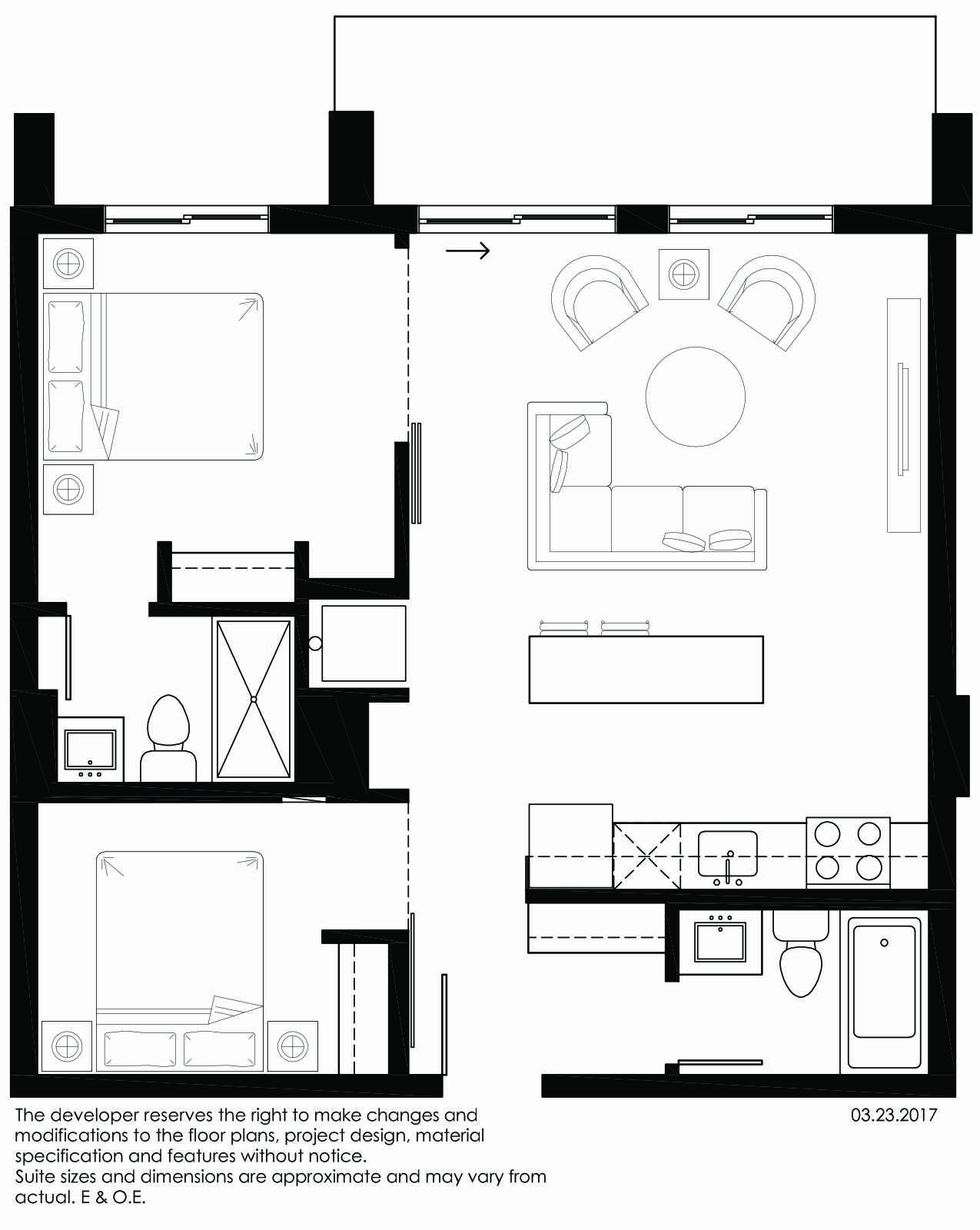 Vibe Condos - Vivacious Floorplan