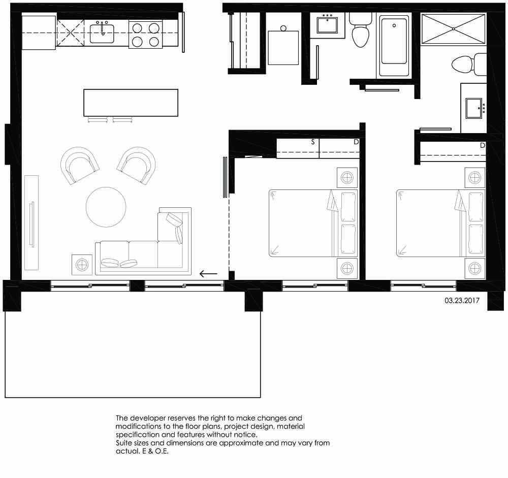 Vibe Condos - Blissful Floorplan