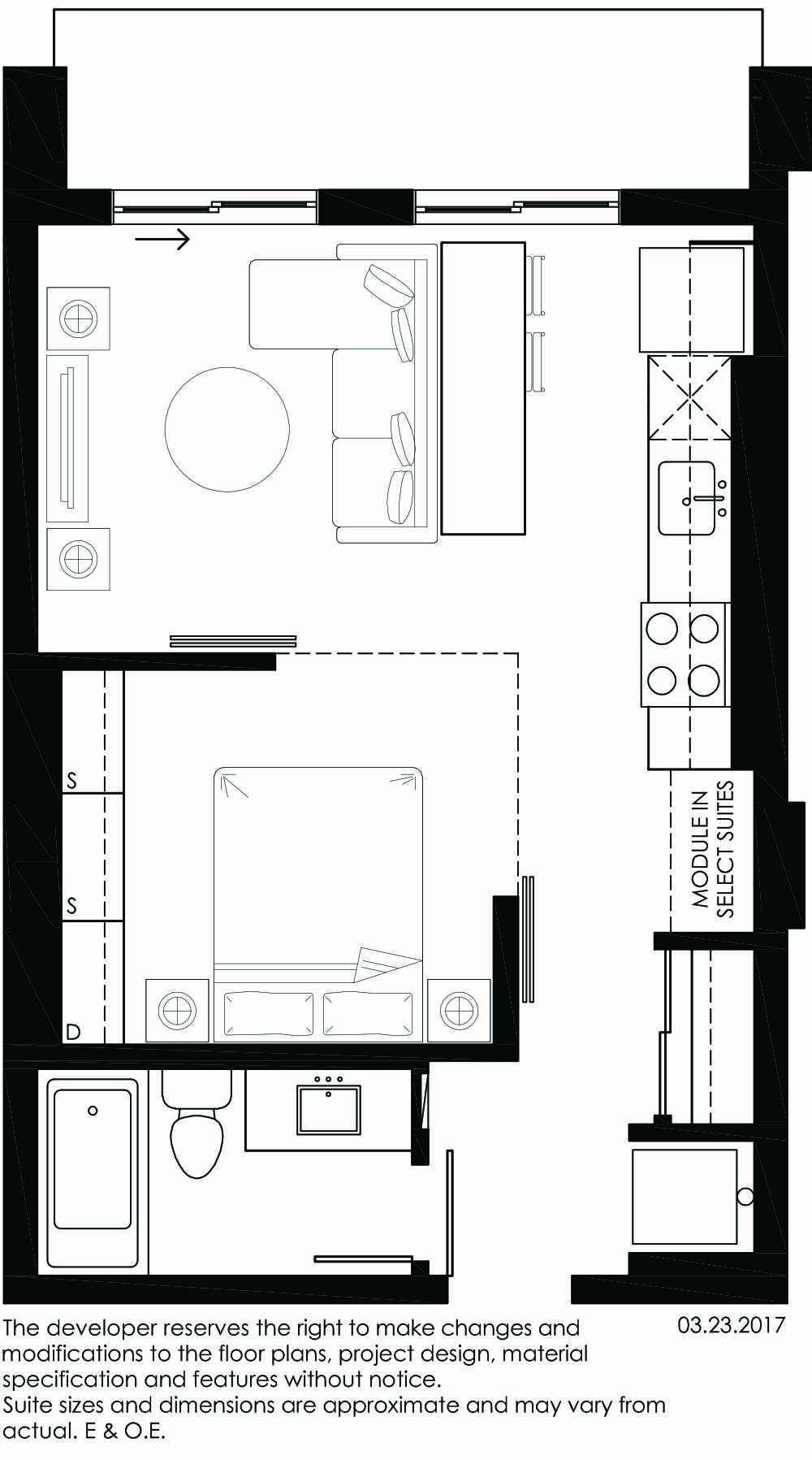 Vibe Condos - Jovial Floorplan