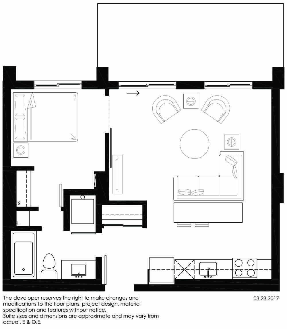 Vibe Condos - Peaceful Floorplan