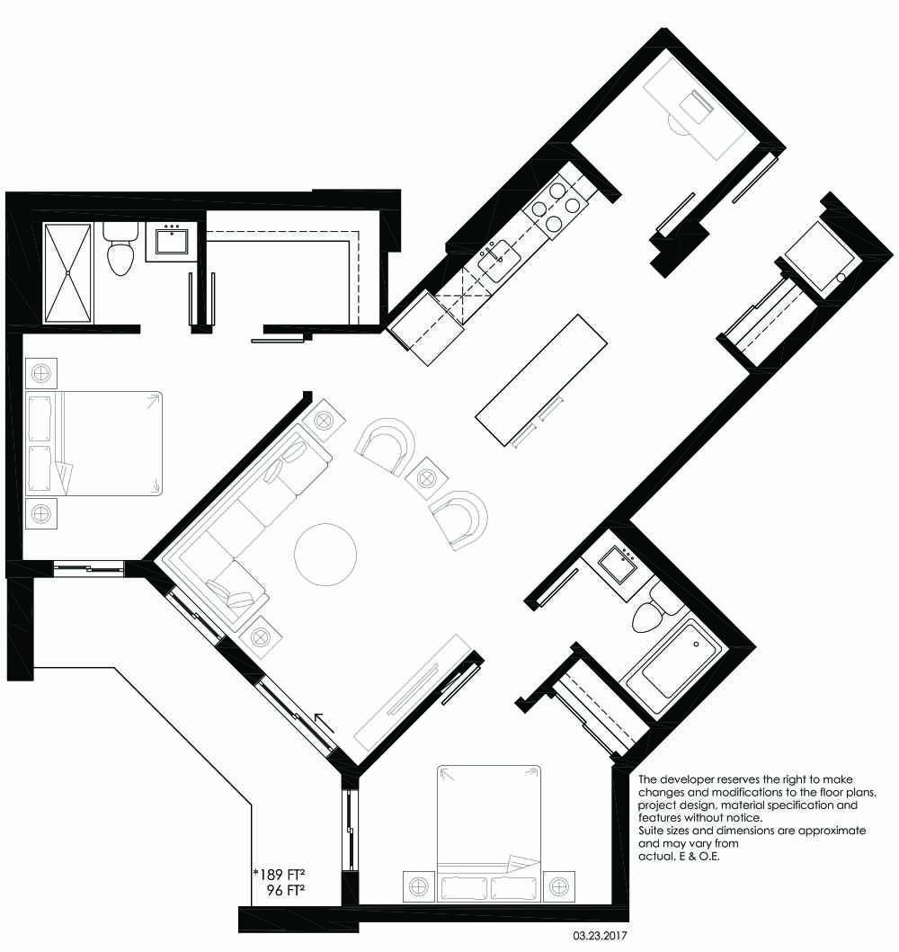 Vibe Condos - Playful Floorplan