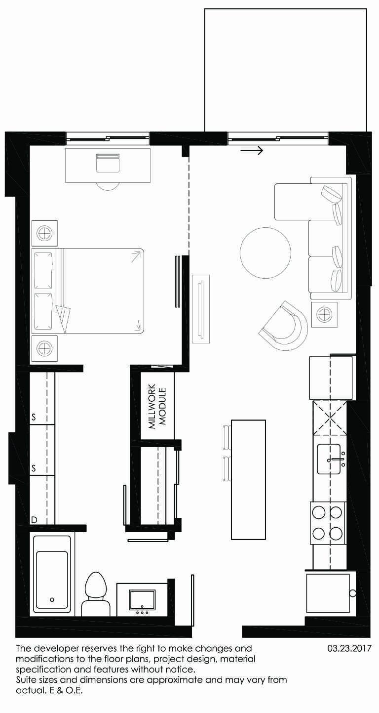 Vibe Condos - Sincere Floorplan